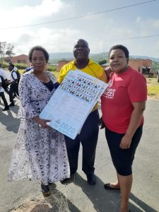 Radio Khwezi visited schools on the first day of schooling