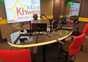 The new Khwezi live studio